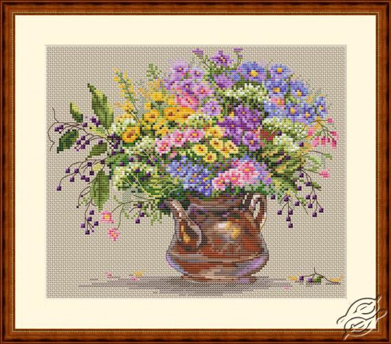 Wild Flowers by Merejka - K-16