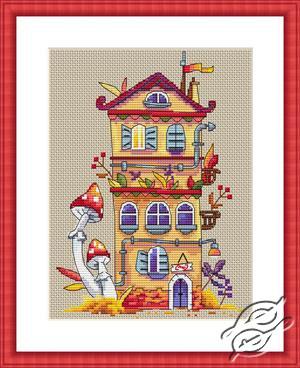 Autumn House by Merejka - K-54