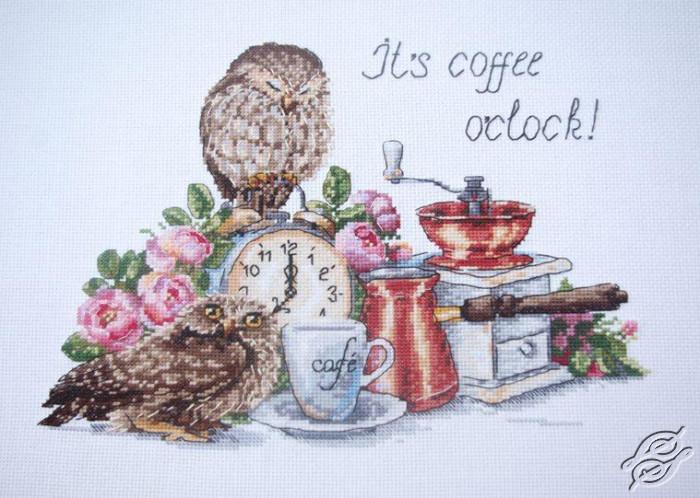 It's coffee o'clock by Merejka - K-83
