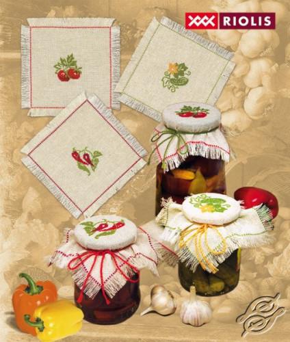 Jar Decorating by RIOLIS - 717