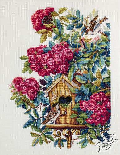 Rose Bush by Merejka - K-150