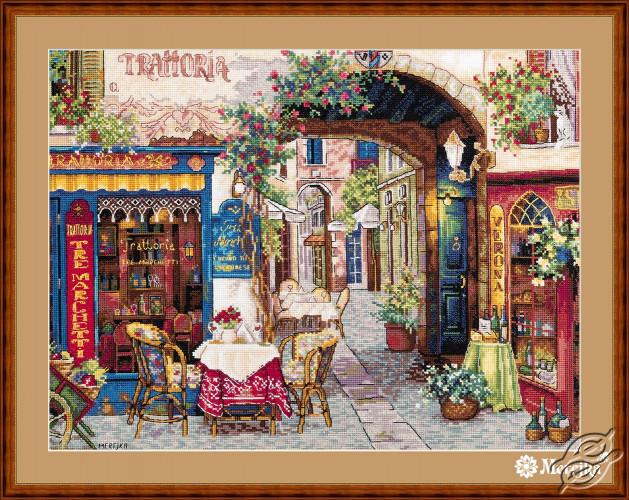 Cafe in Verona by Merejka - K-161