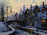 Winter Evening by Merejka - K-169