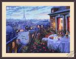 Paris Evening Deja Vu by Merejka - K-188