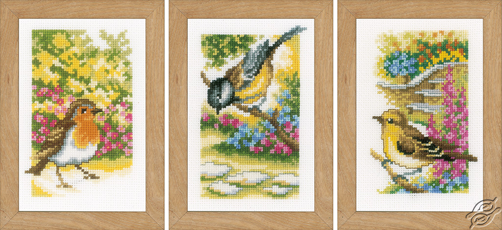 Birds in the Garden by Vervaco - PN-0155883