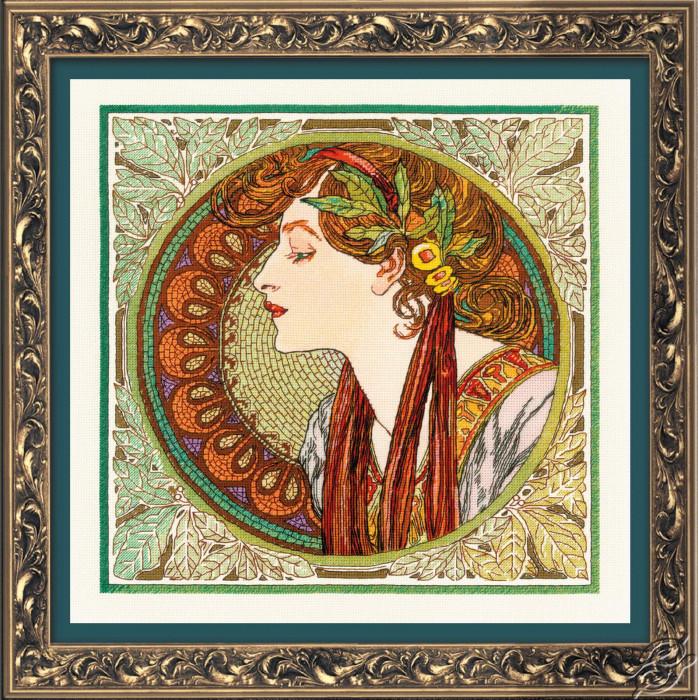 Laurel by Mucha by RIOLIS - 100/061