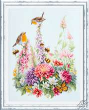 Singing Robins by Magic Needle - 130-032