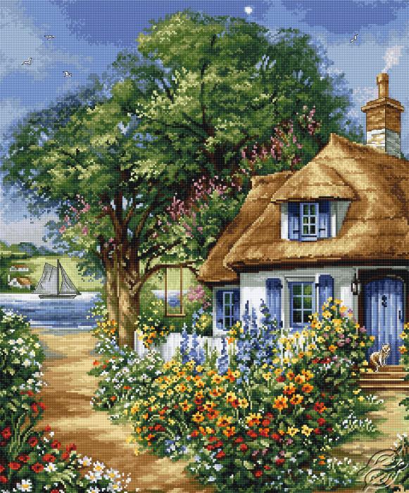 Spring Landscape by Luca-S - BU5000