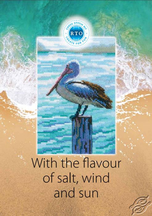 RTO Catalog 2021 Cross Stitch Kits Sun Salt Wind by RTO - GSVCAT21SSW