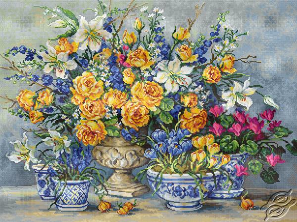 From Gabrielle's Garden by Luca-S - B2392