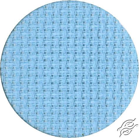 14ct Light Blue Aida 15.3''x17.7'' by RTO - AIDA14-503
