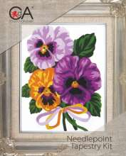 Pansies by Collection D'Art - 3287K