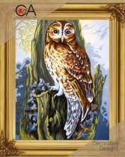 Owl by Collection D'Art - 6252K