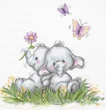 Elephant Couple by Luca-S - B1184