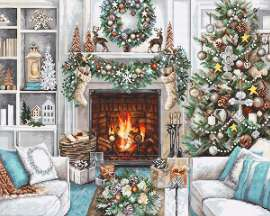 Christmas Interior by Luca-S - B2394