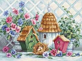 Garden Nesting by Luca-S - B2396