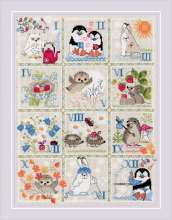 Forest Calendar by RIOLIS - 1979