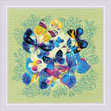 Bright Butterflies by RIOLIS - 1958