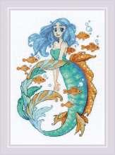 Little Mermaid Aquamarine by RIOLIS - 1965