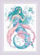 Little Mermaid Rosalina by RIOLIS - 1966